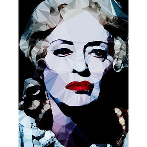 Bette Davis #3 by Baiba Auria - signed art print - Egoiste Gallery
