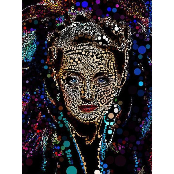 Bette Davis #5 by Baiba Auria - signed art print - Egoiste Gallery