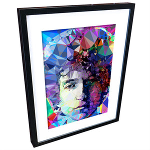 Bob Dylan (III) by Baiba Auria - signed archival Giclee print - Egoiste Gallery - Art Gallery in Manchester City Centre