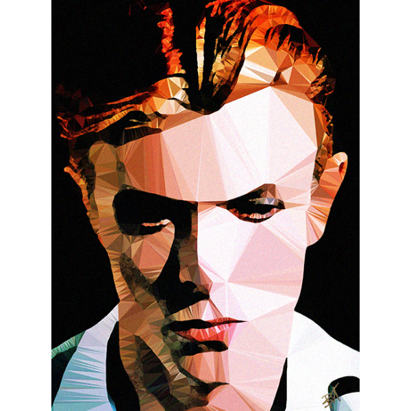 Bowie #4 by Baiba Auria - signed art print - Egoiste Gallery - Art Gallery in Manchester City Centre
