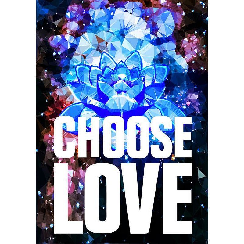 Choose Love by Baiba Auria - signed art print - Egoiste Gallery
