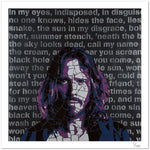 Chris Cornell by Leaky - limited edition signed fine art print 1/100 - Egoiste Gallery - Art Gallery in Manchester City Centre
