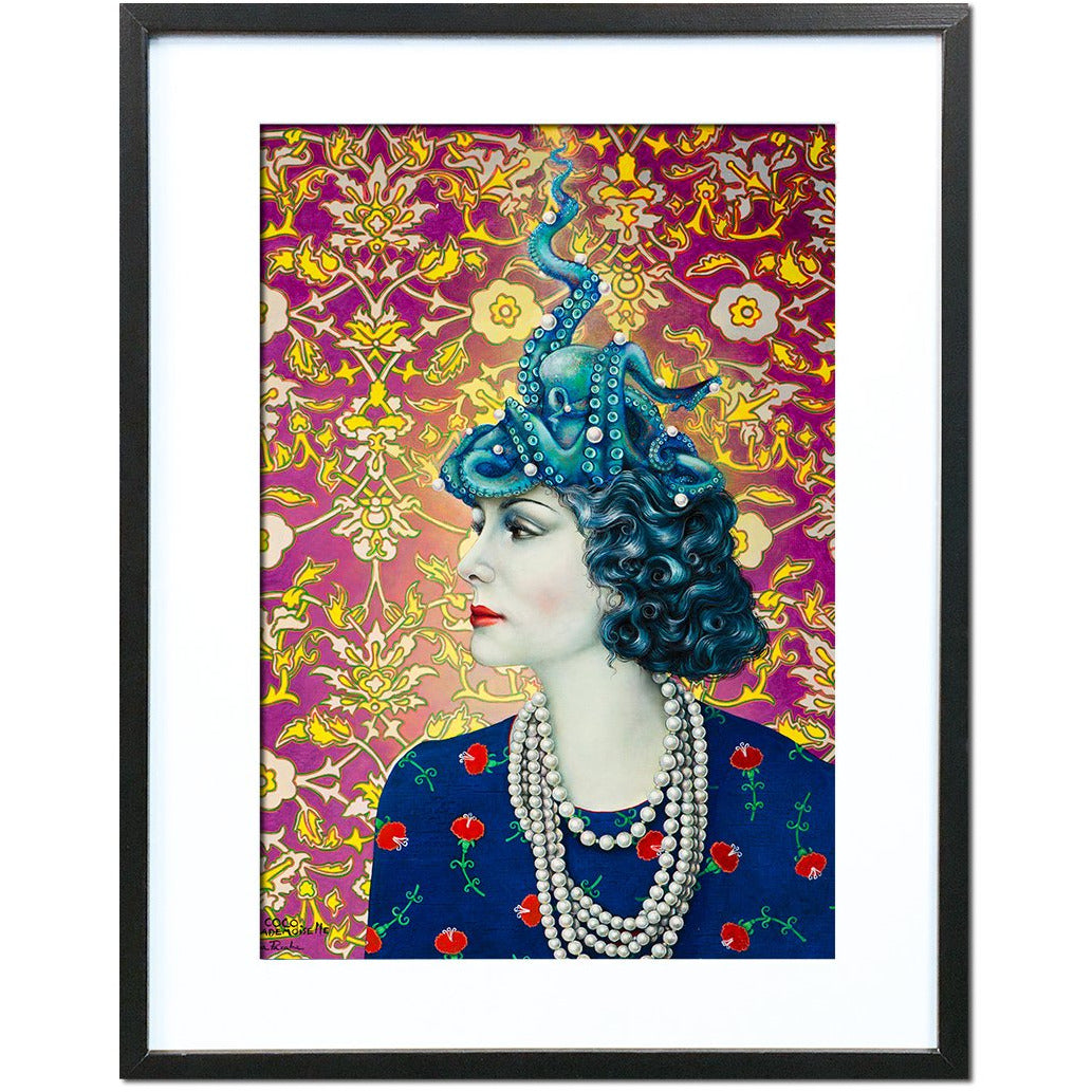 Coco by Liva Pakalne Fanelli - fine art print - Egoiste Gallery - Art Gallery in Manchester City Centre
