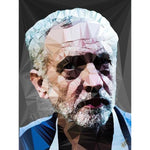 Jeremy Corbyn by Baiba Auria - signed art print - Egoiste Gallery - Art Gallery in Manchester City Centre