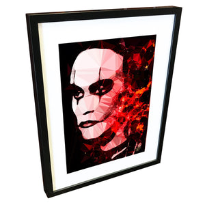 The Crow by Baiba Auria - signed art print - Egoiste Gallery - Art Gallery in Manchester City Centre