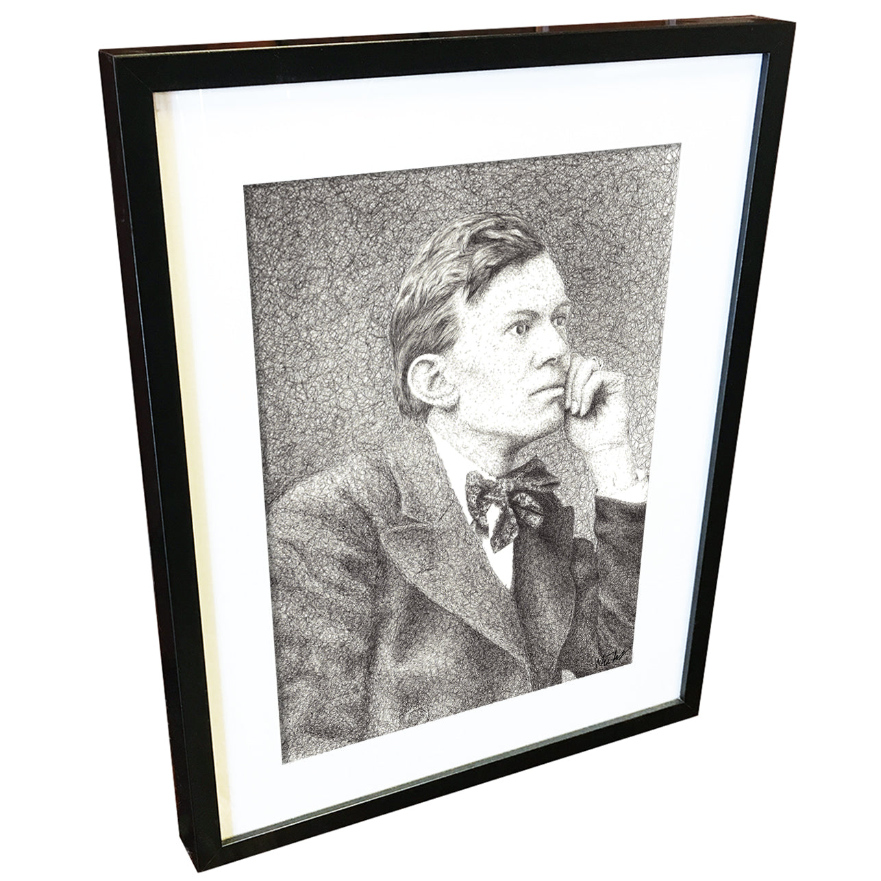 Aleister Crowley by Matt Hopper - signed fine art giclee print - Egoiste Gallery