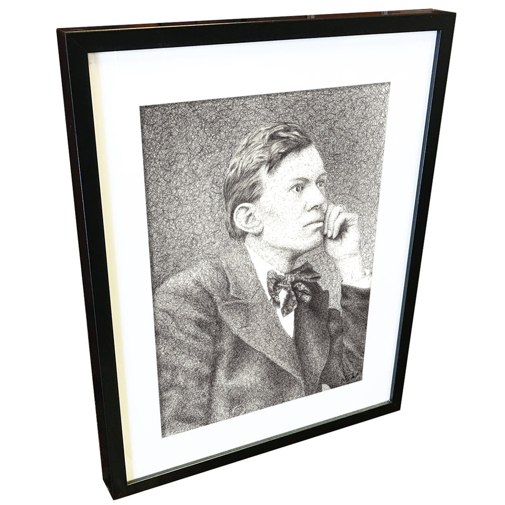 Aleister Crowley by Matt Hopper - fine art giclee print