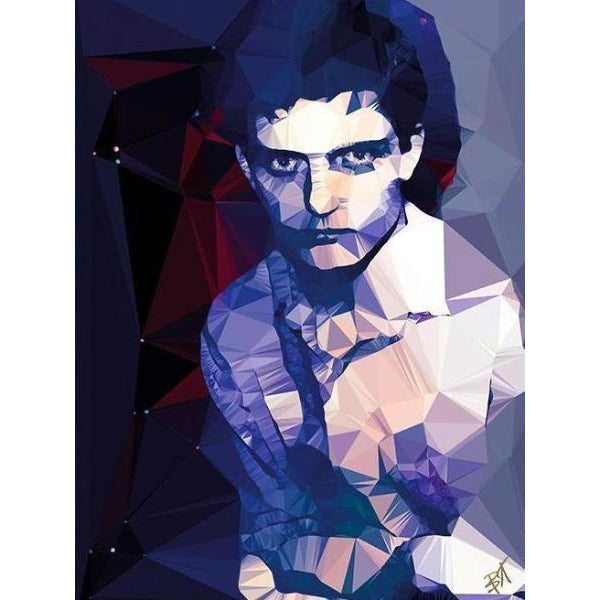 Ian Curtis #3 by Baiba Auria - signed art print - Egoiste Gallery - Art Gallery in Manchester City Centre