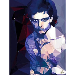 Ian Curtis #3 by Baiba Auria - signed art print - Egoiste Gallery