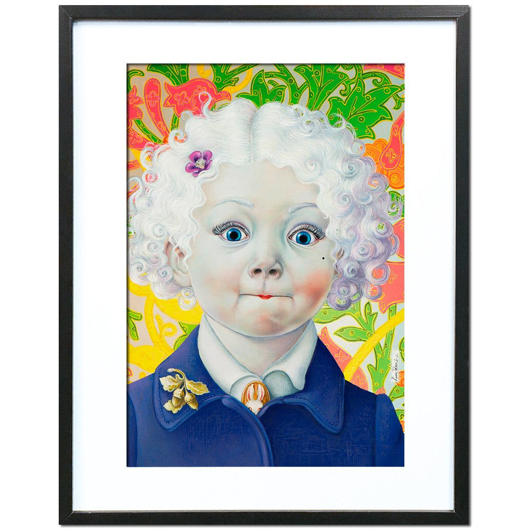 Lorelei has a Secret by Liva Pakalne - fine art print - Egoiste Gallery