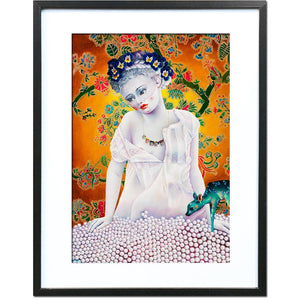 Forget Me Not (Maya) by Liva Pakalne Fanelli - fine art print - Egoiste Gallery - Art Gallery in Manchester City Centre