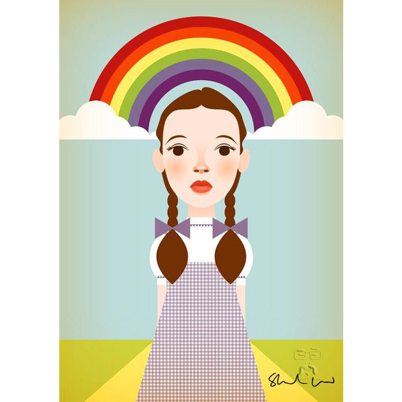 Somewhere Over The Rainbow by Stanley Chow - Signed and stamped fine art print - Egoiste Gallery