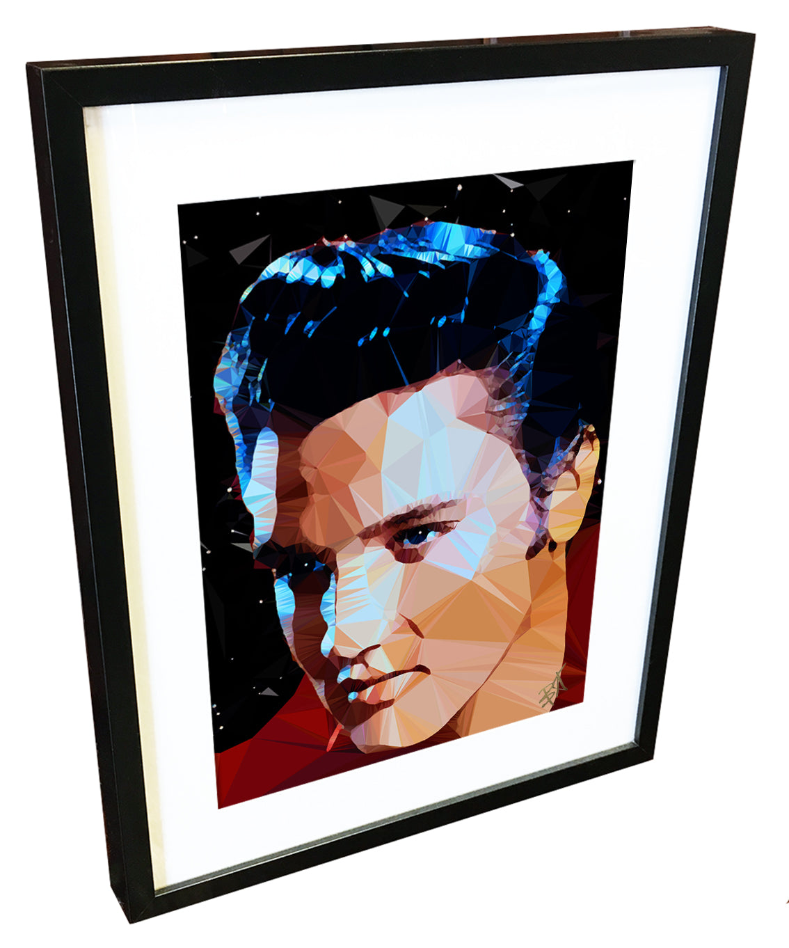 Elvis #1 by Baiba Auria - signed art print - Egoiste Gallery - Art Gallery in Manchester City Centre
