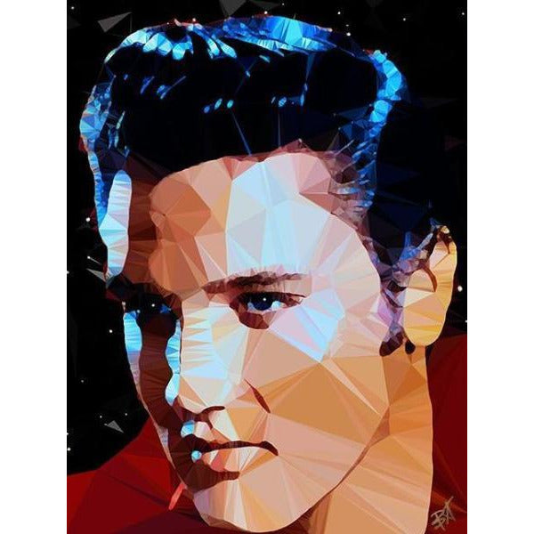 Elvis #1 by Baiba Auria - signed art print - Egoiste Gallery