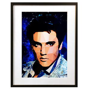 Elvis #2 by Baiba Auria - signed art print - Egoiste Gallery