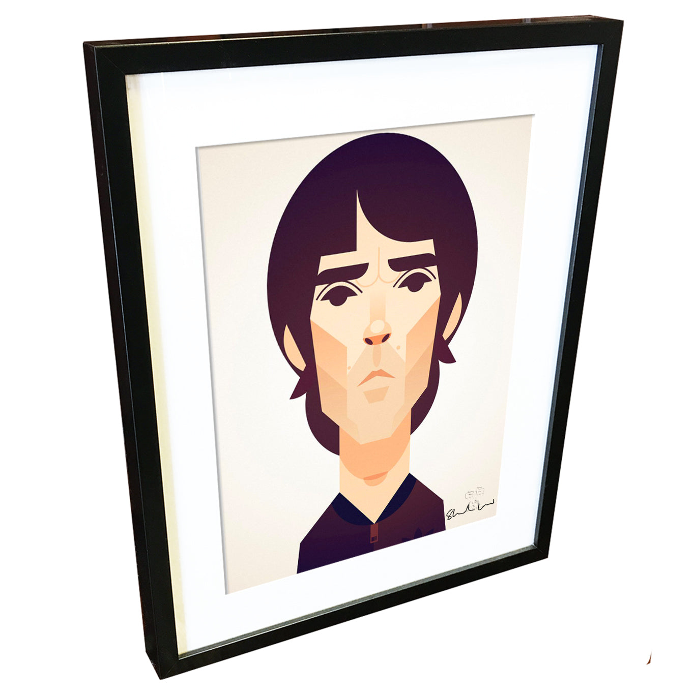 Ian Brown by Stanley Chow - Signed and stamped fine art print - Egoiste Gallery