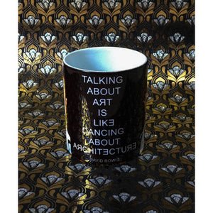 David Bowie Mug by Baiba Auria - Egoiste Gallery