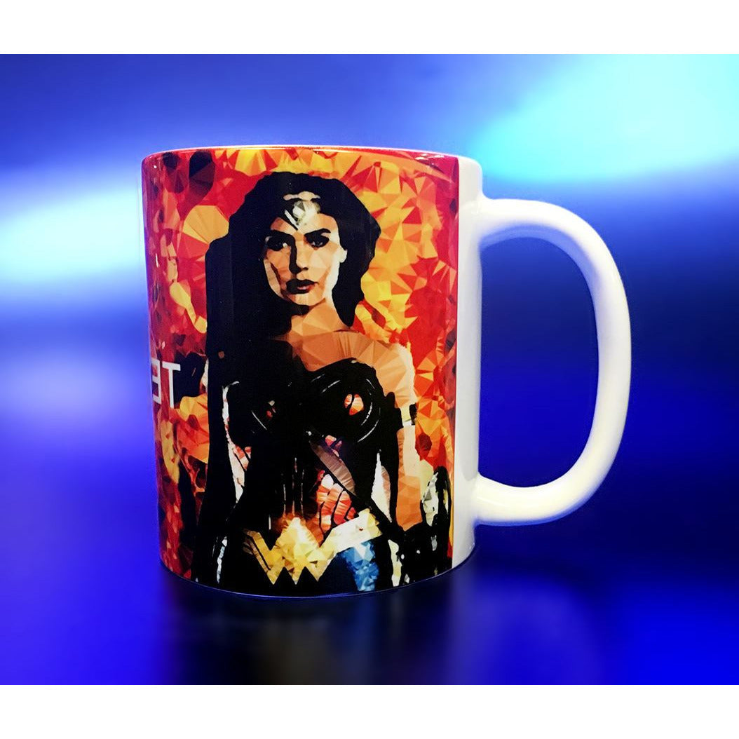 Wonder Woman #1 Mug by Baiba Auria - Egoiste Gallery