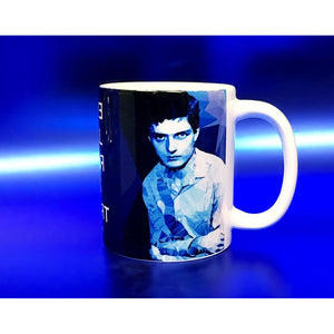 Ian Curtis #2 Mug by Baiba Auria - Egoiste Gallery - Art Gallery in Manchester City Centre