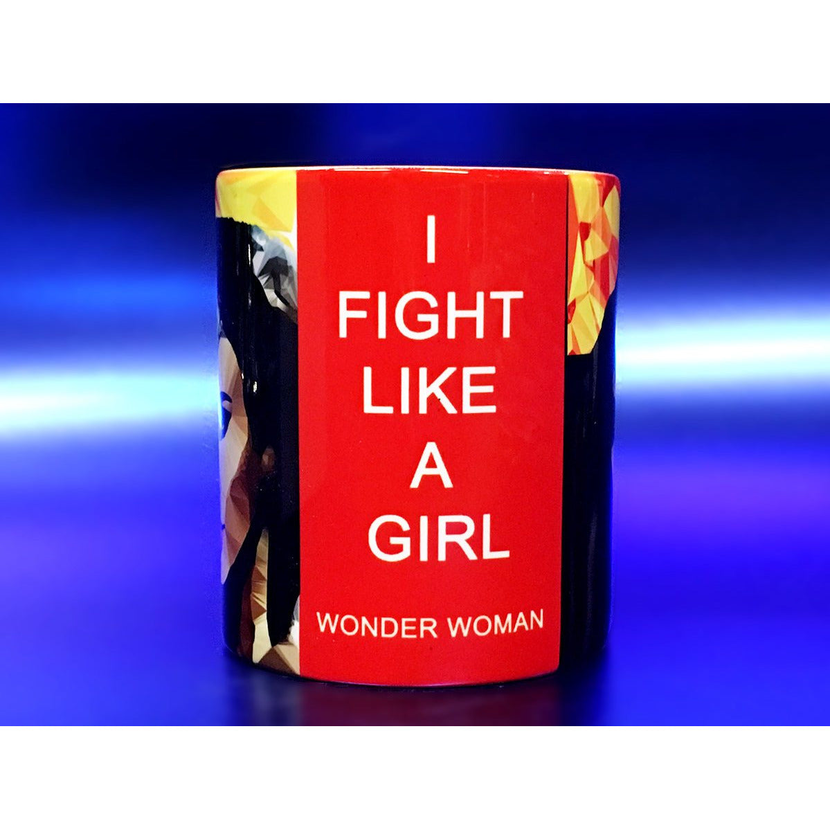 Wonder Woman #2 Mug by Baiba Auria - Egoiste Gallery