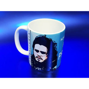 Jon Snow Mug by Baiba Auria - Egoiste Gallery - Art Gallery in Manchester City Centre