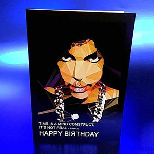 Prince #1 birthday card by Baiba Auria - Egoiste Gallery - Art Gallery in Manchester City Centre