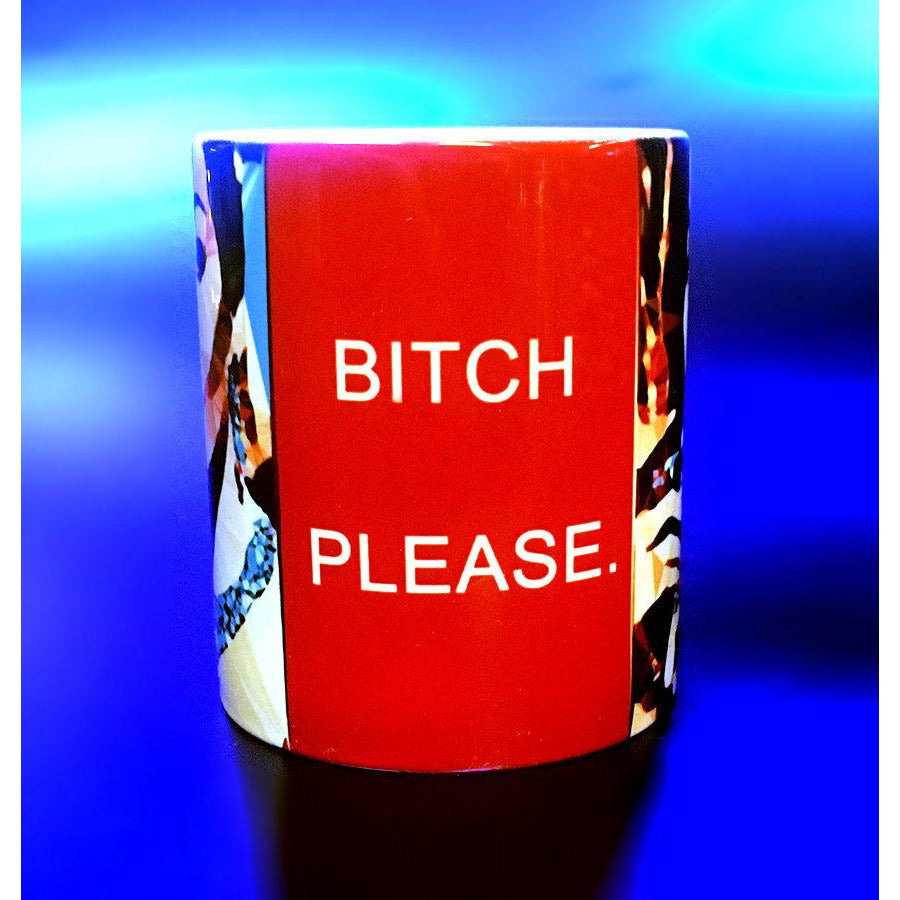 "Natalie Wood ""Bitch please"" Mug by Baiba Auria - Egoiste Gallery"