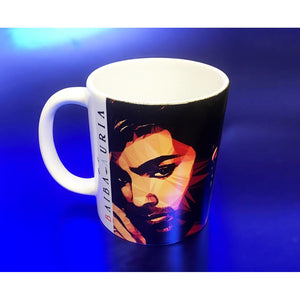 George Michael #1 Mug by Baiba Auria - Egoiste Gallery - Art Gallery in Manchester City Centre