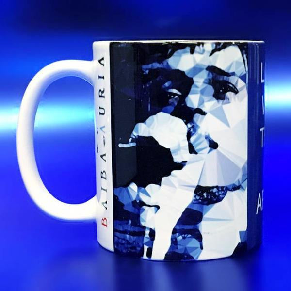 Ian Curtis #4 Mug by Baiba Auria - Egoiste Gallery - Art Gallery in Manchester City Centre