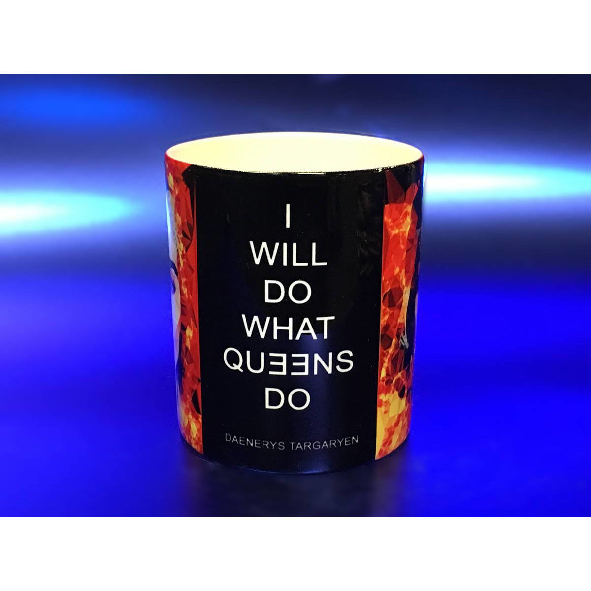 Daenerys Targaryen - Ashes to Ashes Mug by Baiba Auria - Egoiste Gallery