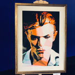 David Bowie by Baiba Auria - Limited Edition 24/500 signed art print - Egoiste Gallery - Art Gallery in Manchester City Centre
