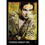 "Irma - ""THINGS ANNOY ME"" art print signed by Baiba Auria - Egoiste Gallery"