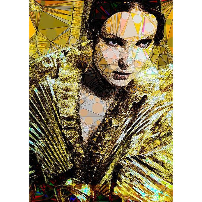 Irma by Baiba Auria - signed art print - Egoiste Gallery - Art Gallery in Manchester City Centre