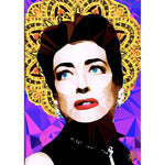 Joan Crawford #1 by Baiba Auria - signed art print - Egoiste Gallery - Art Gallery in Manchester City Centre