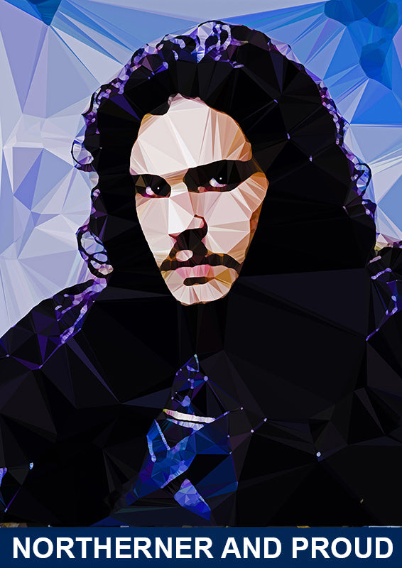 Jon Snow #3 by Baiba Auria - signed art print - Egoiste Gallery - Art Gallery in Manchester City Centre