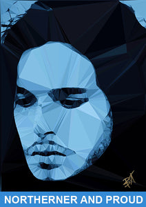 Jon Snow #2 by Baiba Auria - signed art print - Egoiste Gallery - Art Gallery in Manchester City Centre