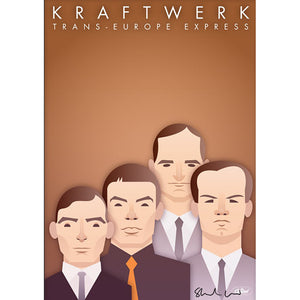 Kraftwerk by Stanley Chow - Signed and stamped fine art print - Egoiste Gallery - Art Gallery in Manchester City Centre