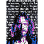 Chris Cornell by Leaky - signed fine art print - Egoiste Gallery - Art Gallery in Manchester City Centre
