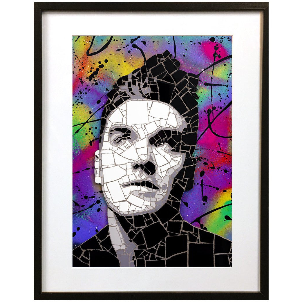 Morrissey by Leaky - signed fine art print - Egoiste Gallery - Art Gallery in Manchester City Centre