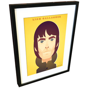 Laim Gallagher by Stanley Chow - Signed and stamped fine art print - Egoiste Gallery