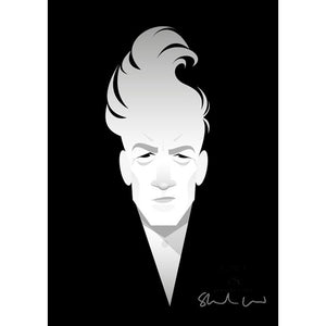David Lynch by Stanley Chow - Signed and stamped fine art print - Egoiste Gallery