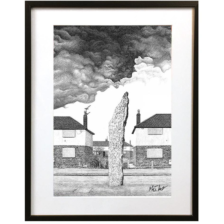 Monolith by Matt Hopper - signed fine art giclee print - Egoiste Gallery