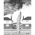 Monolith by Matt Hopper - signed fine art giclee print - Egoiste Gallery - Art Gallery in Manchester City Centre