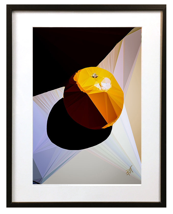 Orange by Baiba Auria - signed art print - Egoiste Gallery - Art Gallery in Manchester City Centre