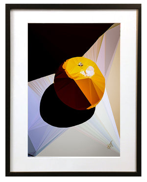 Orange by Baiba Auria - signed art print - Egoiste Gallery