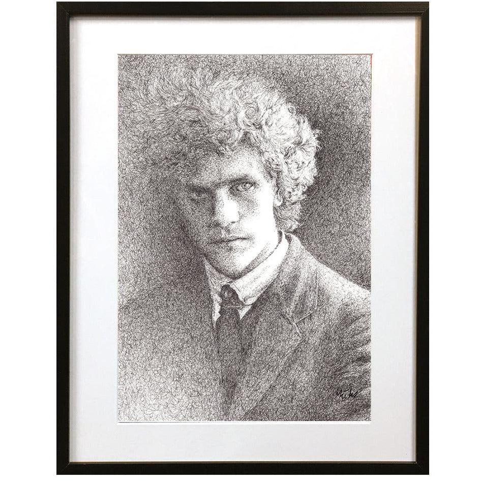 Austin Osman Spare by Matt Hopper - signed fine art giclee print - Egoiste Gallery - Art Gallery in Manchester City Centre