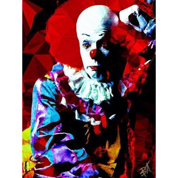 Pennywise #1 by Baiba Auria - signed art print - Egoiste Gallery - Art Gallery in Manchester City Centre