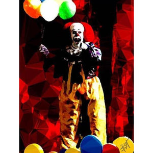 Pennywise #2 by Baiba Auria - signed art print - Egoiste Gallery