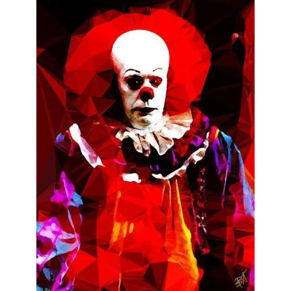 Pennywise #3 by Baiba Auria - signed art print - Egoiste Gallery