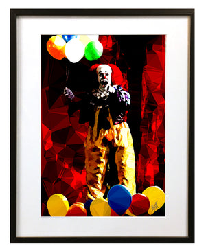 Pennywise #2 by Baiba Auria - signed art print - Egoiste Gallery - Art Gallery in Manchester City Centre